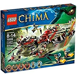 LEGO Legends of Chima - Sets de juego: El buque cocodrilo de Cragger (70006)