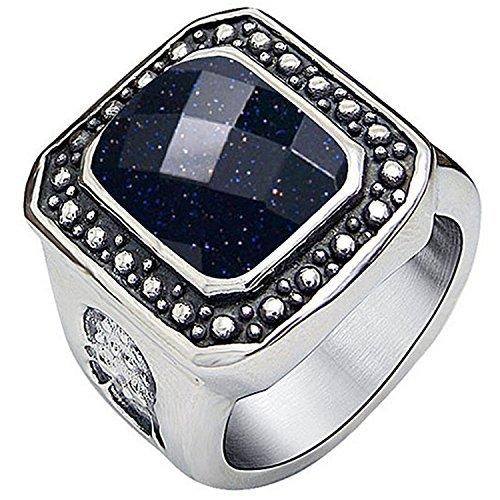 claire-jin-pierre-de-sable-bleue-titane-et-acier-inoxydable-bague-homme-bijoux-vintage
