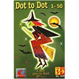 Dot to Dot 1 to 50 Witch by Buki