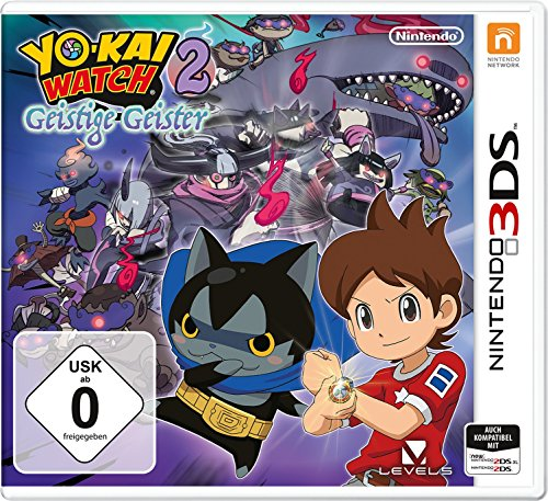 YOKAI WATCH 2: Geistige Geister – [Nintendo 3DS]