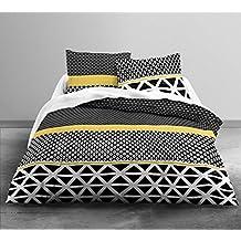 Today–Juego de cama 2personas Enjoy braza funda de edredón 2fundas de almohada 63x 63cm, algodón, multicolor, 240x 260cm