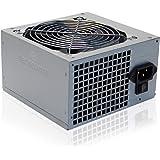 Tecnoware Alimentatore ATX per PC - Ventola Silenziosa da 12 cm - Connettori 2 x SATA, 1 x 24 Poli, 1 x 12V, 4 + 4 Poli, 2 x
