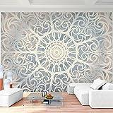 Fototapete Mandala Orient - Vlies Wand Tapete Wohnzimmer Schlafzimmer Büro Flur Dekoration Wandbilder XXL Moderne Wanddeko - 100% MADE IN GERMANY - 9286010c
