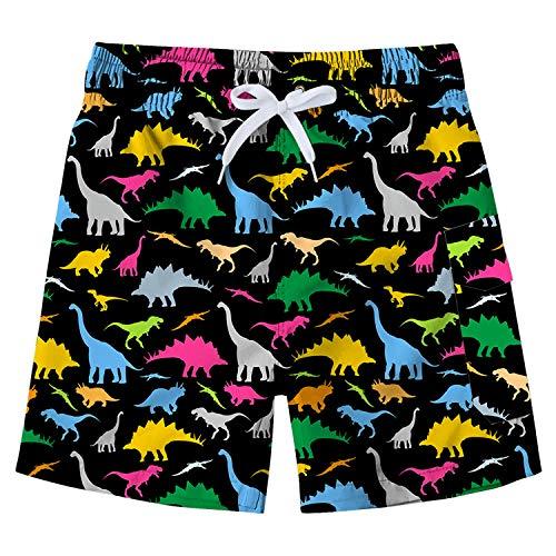 Pantalones Cortos de Tabla de Surf para niños Traje de baño Tronco de natación Pantalones Cortos...