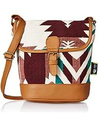 Kanvas Katha Women's Sling Bag (Multicolor) (KKRJQ039)