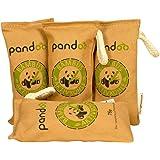 Pandoo natuurlijke bamboe luchtverfrisser met actieve houtskool, luchtreiniger en luchtontvochtiger, luchtreiniger in de kame
