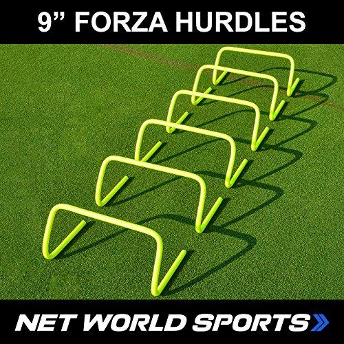 Net World Sports Fußball Hürden, 23 cm, 6 Stück