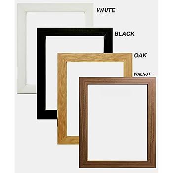 14x10 Wood Picture Photo Frame Black Amazon Kitchen Home