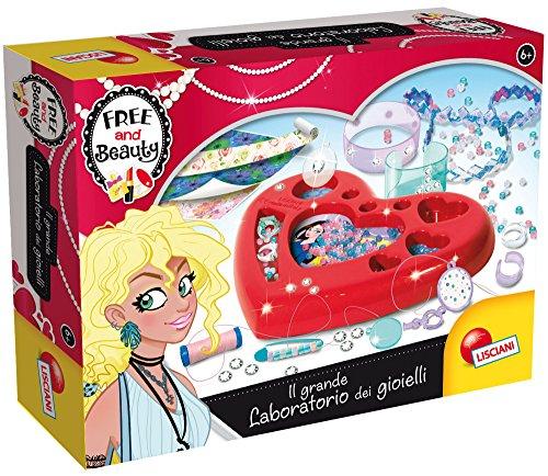 Lisciani Giochi 63789-Free & Beauty il Grande Laboratorio de Joyas