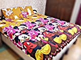 #3: Singhs Kids Cartoon Double Bedsheet With 2 Pillow Covers