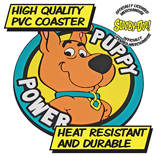 Scrappy-Doo PVC Coaster, Puppy Power by Kapow Gifts