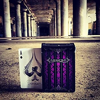 Artifice Second Edition Purple Bicycle Playing Cards