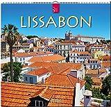 LISSABON: Original Stürtz-Kalender 2018 - Mittelformat-Kalender 33 x 31 cm -