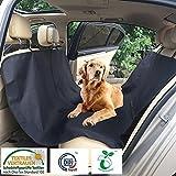 CLEARANCE SALE:Petutopian Hundedecke für Auto Hunde Autoschondecke wasserdicht 165CM*145CM schwarz