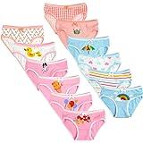 Calosy Mutande di Cotone Assortite per Bambini Mutandine di Cotone per Bambini (Set di 12 Confezioni)