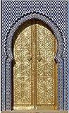 Sticker Porte Déco Orientale - SAPP7162 (100x200cm)