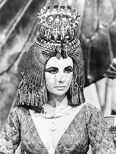 Artland Qualitätsbilder I Wandtattoo Wandsticker Wandaufkleber 30 x 40 cm Film TV Film Foto Schwarz Weiß B9UC Kleopatra 1963 -