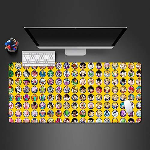 Mauspad 900X400*3Mm Charaktere Mauspad Gamer Gaming Mousepad Mode Computer Tastatur Schreibtisch Matte Große Spielmatten
