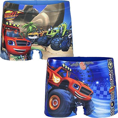 Cartoon world costume mare piscina disney blaze - taglia 6 anni colore celeste