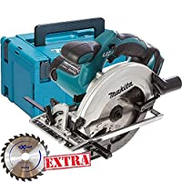 Makita DSS611Z 18V Li-ion 165mm Cordless Circular Saw With Case + Extra Blade