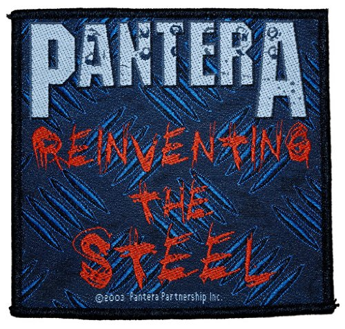 Pantera - Reinventing the Steel toppa in tessuto 10 x 10 cm