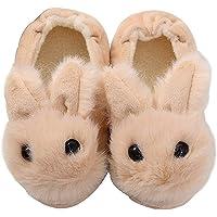 Yeeteepot Pantofole per Bambini Antiscivolo Peluche Scarpe Ciabatte Chiuse da Casa Invernali Caldo delle Pantofole per…