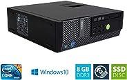 DELL OptiPlex 7010 SFF Intel Core i5 3.20 GHz 8GB DDR3 240GB SSD DVD Writer Windows 10 Home 64bit (Generalüberholt)