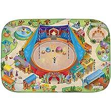 """Casa de Niños (hov0p) """"circo Ultra suave alfombra, multicolor, 130x 180x 0,76cm"""