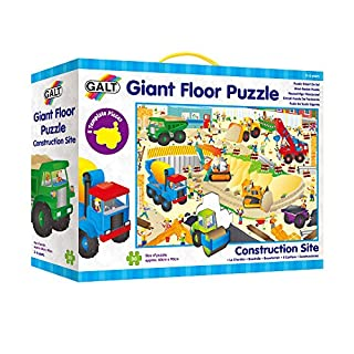 Galt Toys Giant Floor Puzzle Construction Site