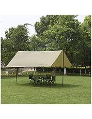 YHKQS-KQS Toldo / senderismo refugio vacaciones de verano al aire libre Camping sombrilla impermeable techo pabellón plegable con llevar bolsa 300 * 300 * 220 cm