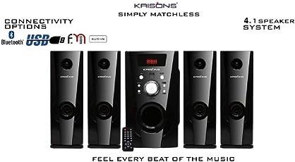 Krisons Eiffel 4.1 Bluetooth Home Theater (3000 Watt)