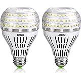 Bombillas LED SANSI 22W (equivalentes a 200W), bombilla de luz blanca de luz diurna 5000K, bombilla de tornillo Edison E27 sú