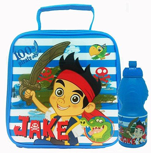 Disney Jake und die Nimmerland-Piraten Provianttasche und Kunststoff, bunt, Farbe (Jake Taschen Kids)