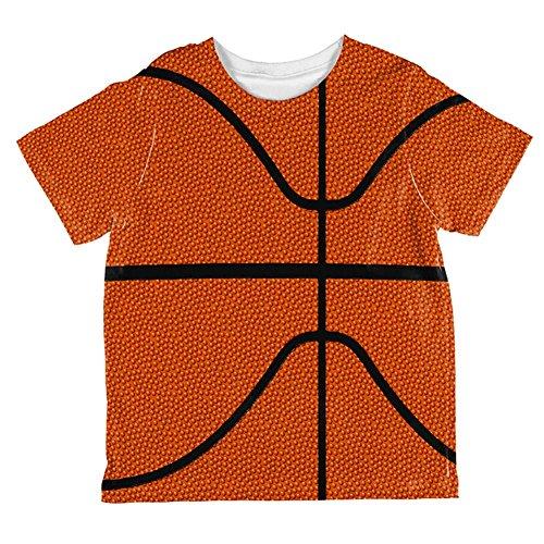Basketball-Kostüm auf der ganzen Kleinkind T Shirt Multi 6 t