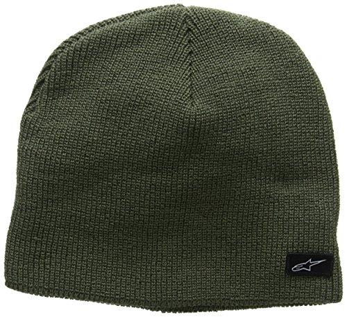 Green Knit Beanie Cap (Alpinestars Herren Baseball Cap Purpose Beanie, Green (Military Green), One size)