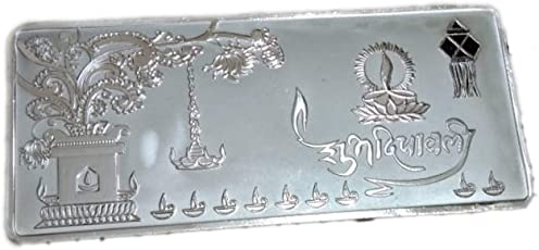 Ananth Jewels BIS Hallmarked 999 Purity 10 Grams Silver Coin