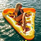 ZLYFA Pool Float Schlauchboot Boat Pizza Schwimmen Float Adult Swim Luftmatratzen