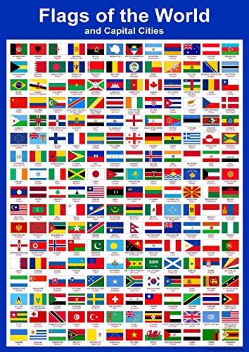 saggezza media mappa gran Bretagna/ /UK British Isles grafico a parete educativa per bambini Childs poster stampa artistica Wallchart