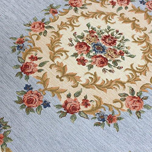 tappeto del salotto di lusso/Tondo americano giardino letto camera da letto coperta-A (Tappeti America Del Blocco)