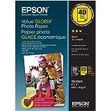 Epson C13S400044 Papel fotográfico 10 x 15 cm, blanco