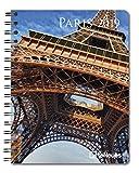 Paris 2019 - Städtekalender, Buchkalender, Taschenkalender, Architekturkalender - 16,5 x 21,6 cm