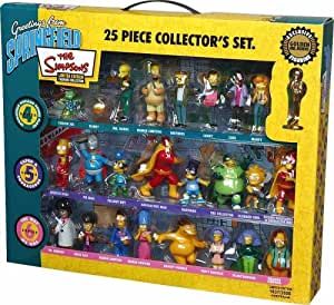 Winning Moves - Figurines de collection - Coffret collector The Simpsons n° 2 25 figurines