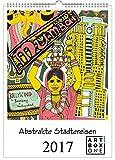 Kalender 2017 Märchenkalender Fairytale von Fabfunky A3 Wandkalender Fabelwesen hochkant mit 12 märchenhaften Illustrationen Wandkalender 2017