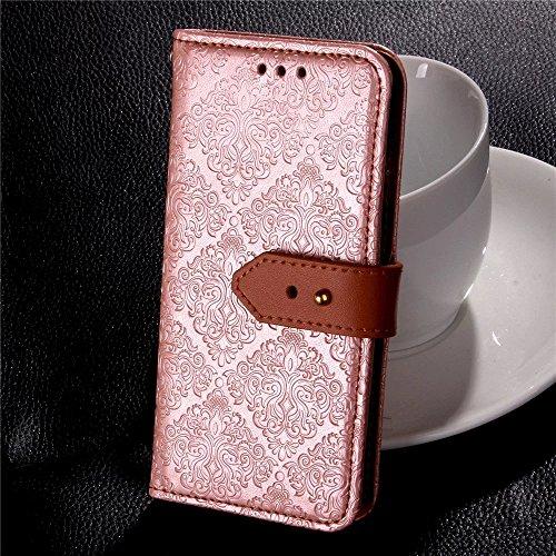 Coque iPhone 7,Coque iPhone 7 Plus, Coque iPhone 6/6S, Coque iPhone 6Plus/6S Plus, Coque iPhone Case cover, [Porte-cartes] étui Protection en Cuir Portefeuille multi-Usage Housse Rabattable(ARD-11) C