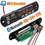 PGSA2Z Bluetooth FM USB AUX Card MP3 Stereo Audio Player Decoder Module Kit with Remote
