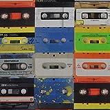 Kassette Tapes Foto ddigital bedruckt Farbe Baumwolle