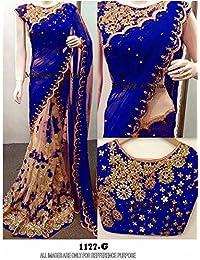 Vinayak Textile Latest Design Women's Party Wear Georgette Saree
