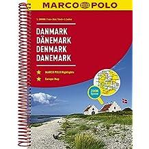 MARCO POLO Reiseatlas Dänemark 1:200 000 (MARCO POLO Reiseatlanten)