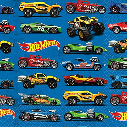 Hot Wheels Wild Racer Beverage Paper Napkins