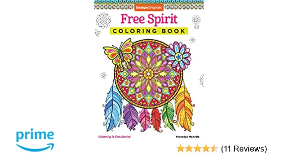 Free Spirit Coloring Book Activity Is Fun Amazoncouk Thaneeya McArdle 0023863055321 Books